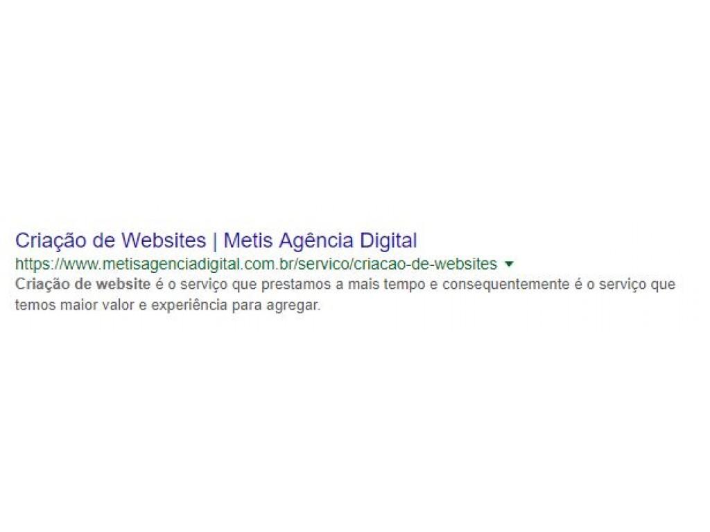 SEO e Criação de Websites Metis Agência Digital