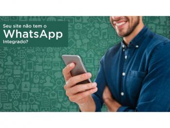 Seu site não tem o WhatsApp integrado?