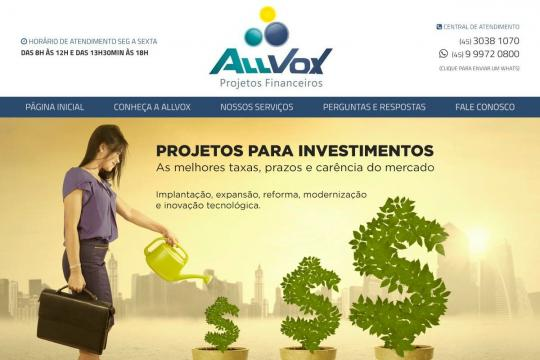 ALLVOX - PROJETOS FINANCEIROS